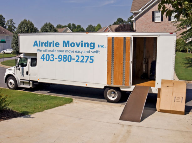 airdrie moving